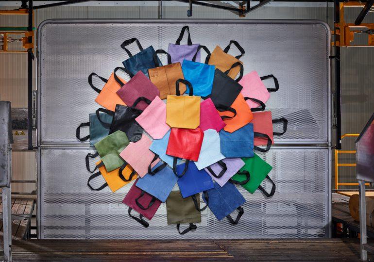 Ecco wprowadza na rynek torby stworzone z resztek materiałów